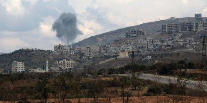 Rejim, El Barah kasabasını bombaladı