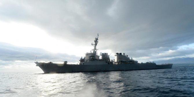 ABD savaş gemisi Karadeniz'e giriş yaptı