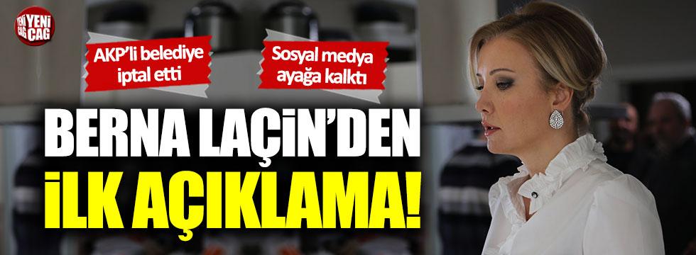 Berna Laçin'den AKP'li Samsun belediyesine tepki