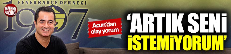 Acun Ilıcalı'dan Fenerbahçe - Galatasaray derbisi yorumu