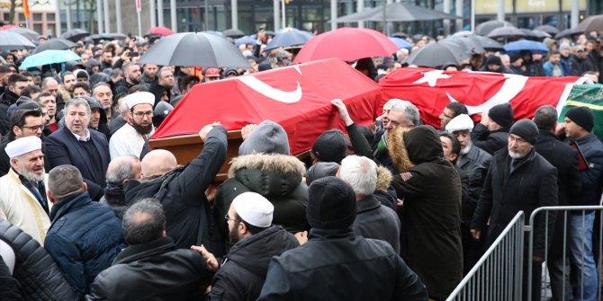 Almanya'daki saldırıda öldürülen Türkler için son görev