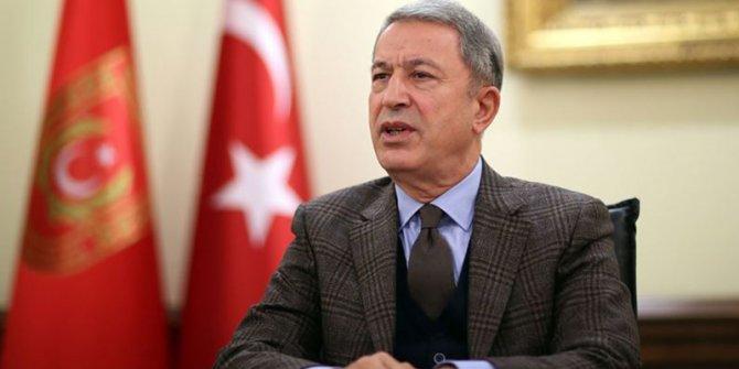 Hulusi Akar, İngiltere Savunma Bakanı ile görüştü