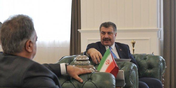 Bakan Koca, İran'ın Ankara Büyükelçisini kabul etti