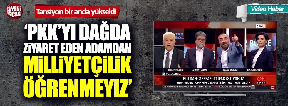 CNN Türk'teki İsmail Saymaz - Doğu Perinçek kavgası gündem oldu!