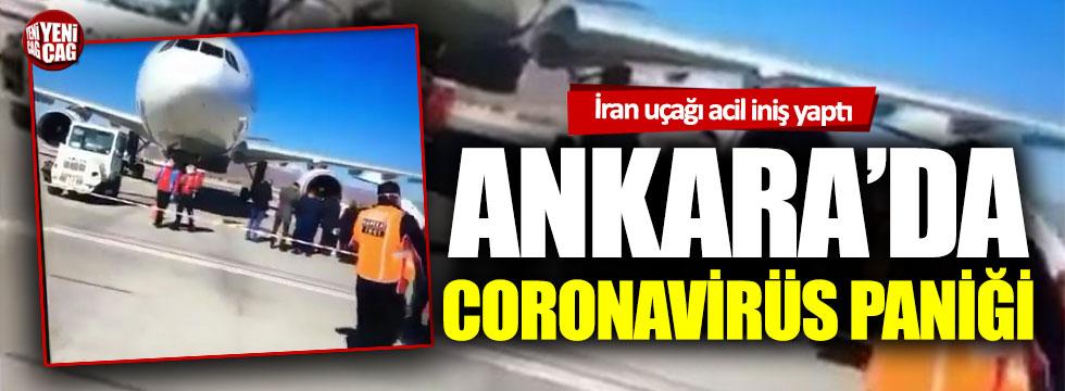 Ankara'da coronavirüs paniği