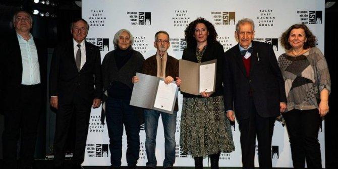 Talat Sait Halman ödülü iki isme verildi