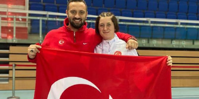 Özel sporcu Fatma dünya şampiyonu oldu