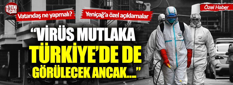 Prof. Gaye Usluer: Coronavirüs mutlaka Türkiye'de de görülecek!