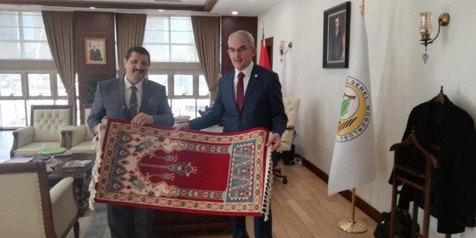 AKP'li başkandan dikkat çeken ziyaret