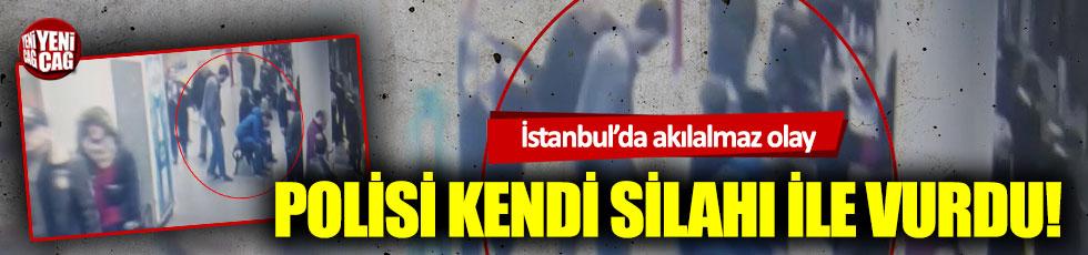 Polisi bacağından vuran saldırgan yakalandı