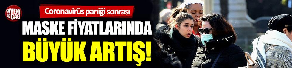 Coronavirüs paniği maske fiyatlarını katladı!