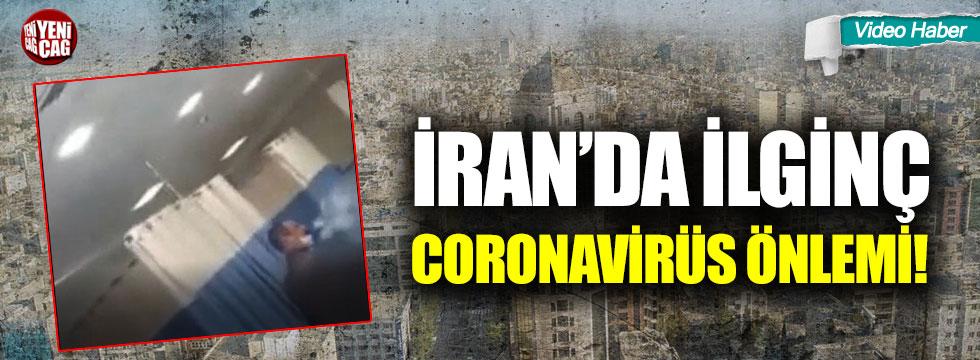 İran'da ilginç coronavirüs önlemi!