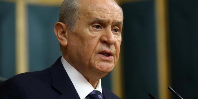 MHP lideri Devlet Bahçeli'den İdlib açıklaması