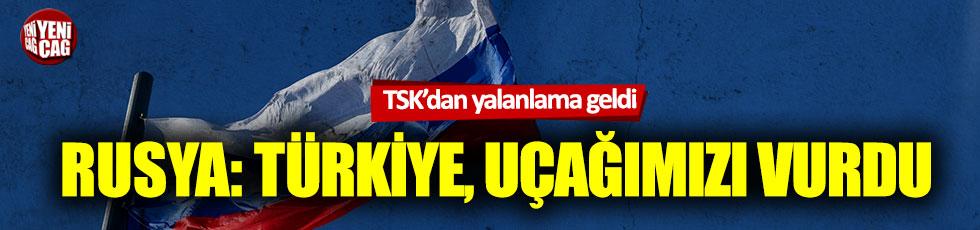 Rus medyası: Türkiye, Rus ve Suriye askeri uçaklarını vurdu