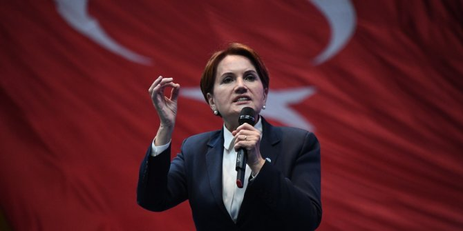 """Meral Akşener: """"Türk milletinin başı sağolsun"""""""