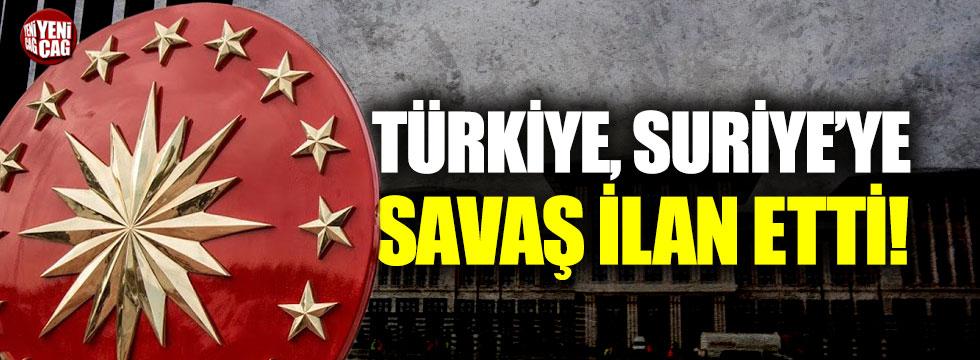 Ankara'da olağanüstü İdlib toplantısı: Türkiye Suriye'ye savaş ilan etti
