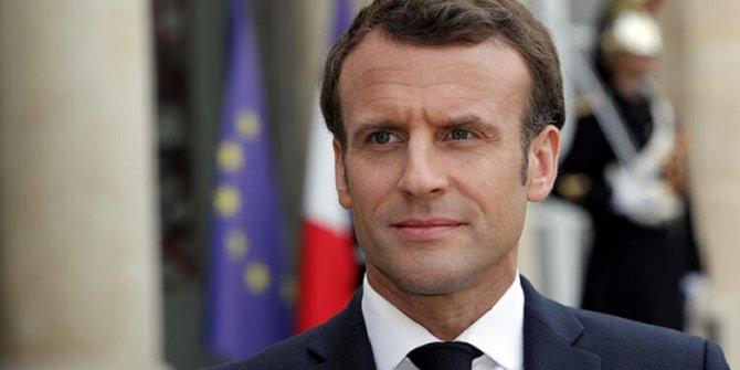 Macron'dan Esad rejimine tepki