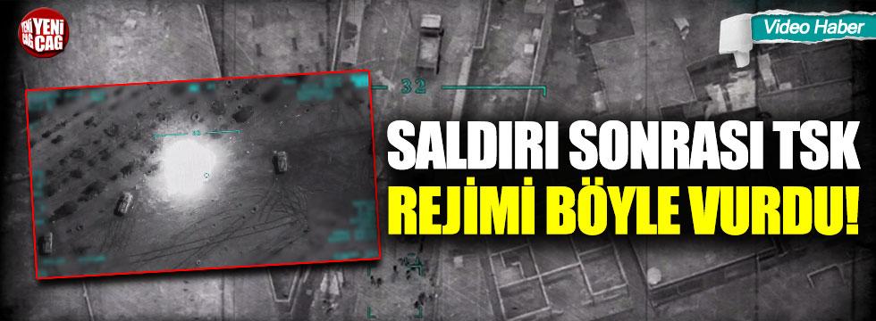 Saldırı sonrası TSK, rejimi böyle vurdu!