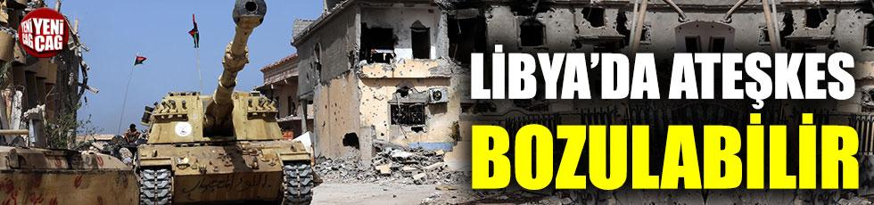 BM: Libya'da ateşkes bozulabilir
