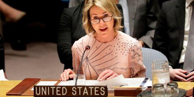 ABD'nin BM Temsilcisi: Türkiye'ye desteğimiz tam