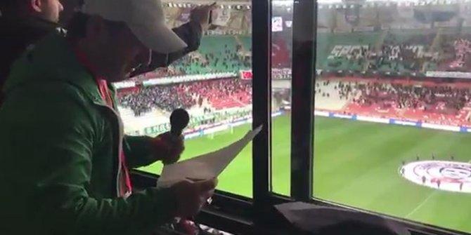 Konyaspor-Kasımpaşa maçı öncesi şehitlerimiz unutulmadı
