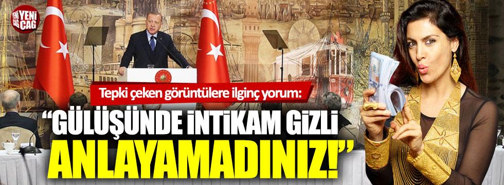 """Tuğba Ekinci'den Erdoğan'a destek: """"Onun gülüşünde intikam var"""""""