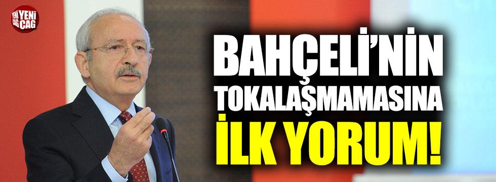 Kemal Kılıçdaroğlu'ndan Devlet Bahçeli ile tokalaşmamasına ilk yorum