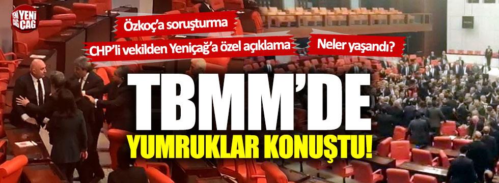 Meclis'te kavga: AKP'li ve CHP'li vekiller birbirine girdi!