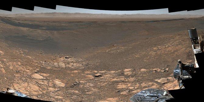 Mars'ta çektiği 'en detaylı panoramik görüntü'