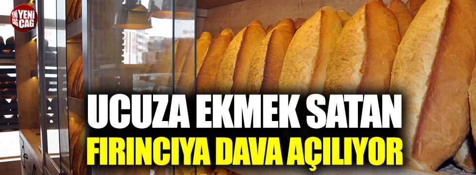 Ucuz ekmek satan fırıncıya dava açılıyor