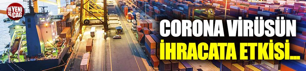 Corona virüs, ihracatı da etkiledi