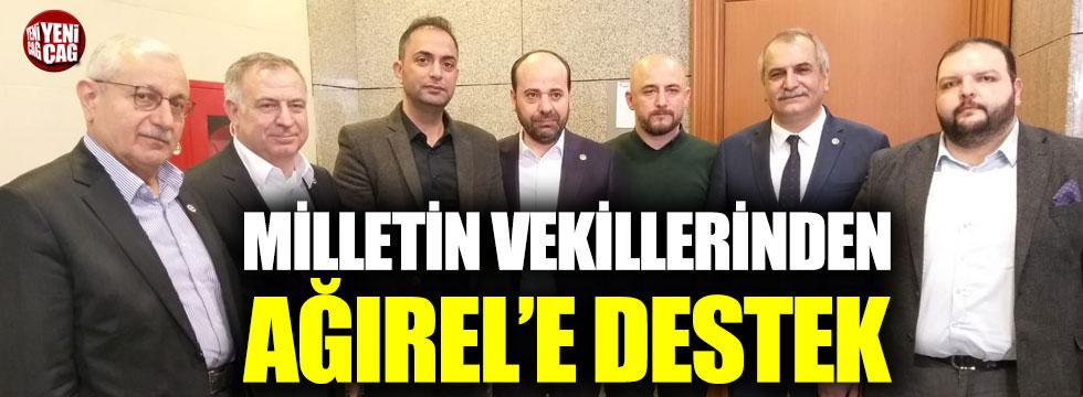 Milletin vekillerinden Murat Ağırel'e destek