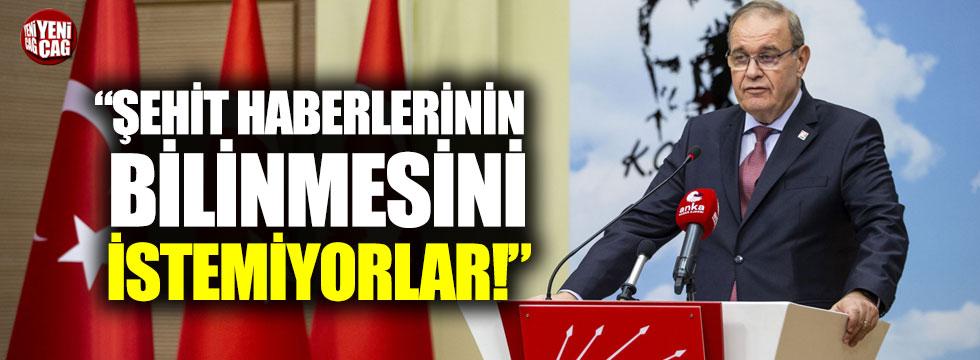CHP'li Öztrak: İktidar şehit haberlerinin kamuoyu tarafından bilinmesini istemiyor!