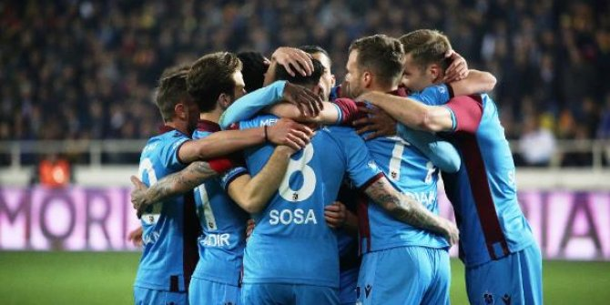 Trabzonspor zirveye yerleşti!