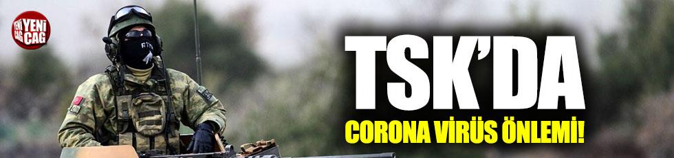 TSK'da corona virüs önlemi