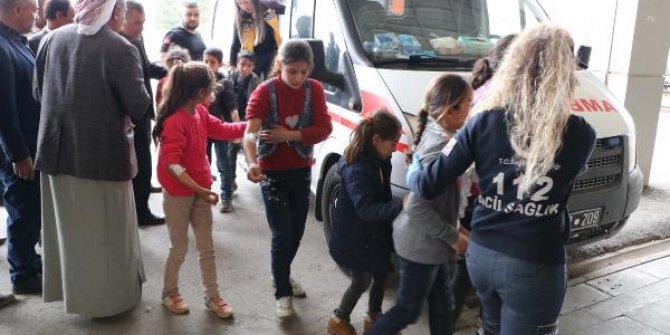 Şanlıurfa'da 100 öğrenci hastanelik oldu