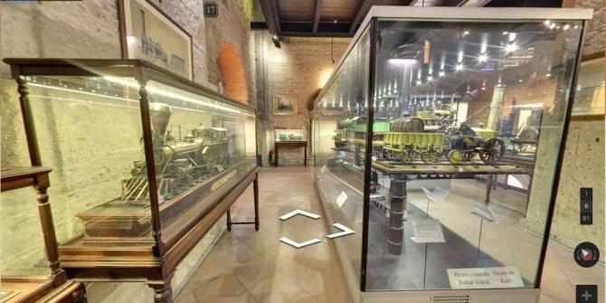 Karantinadaki vatandaşlara sanal müze hizmeti