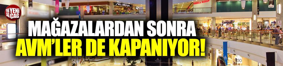 İstanbul'da korona önlemi: AVM'ler de kapanıyor!