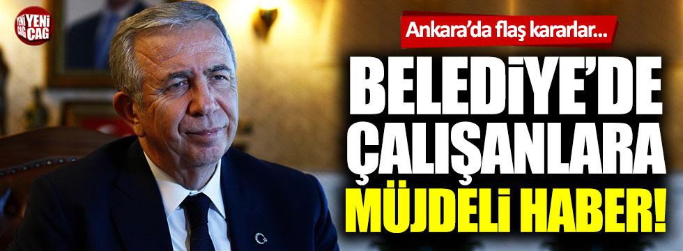 Ankara Büyükşehir Belediyesi'nde korona kararları!