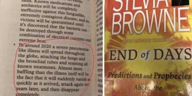 2008 yılında yayınlanan kitapta ilginç korona virüs detayı!