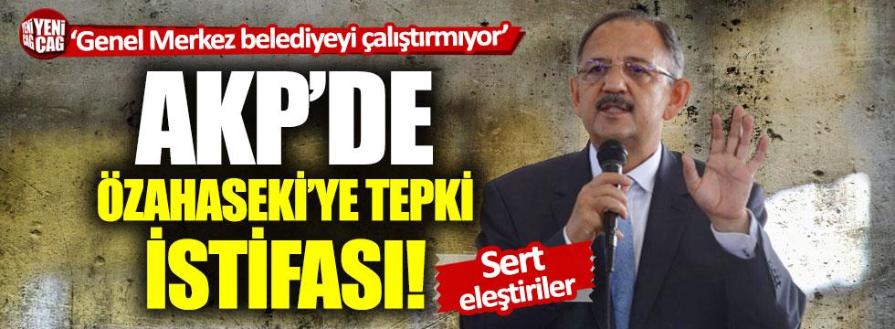 Ankara Büyükşehir Belediyesi'nde Mehmet Özhaseki'ye tepki istifası!