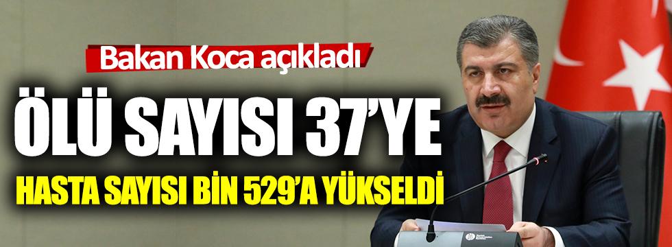 Sağlık Bakanı Koca: 7 insanımızı daha kaybettik
