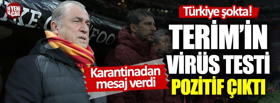Fatih Terim'in korona virüs testi pozitif çıktı