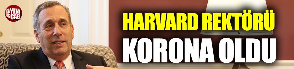 Harvard Rektörü Lawrence S. Bacow ve eşi korona oldu