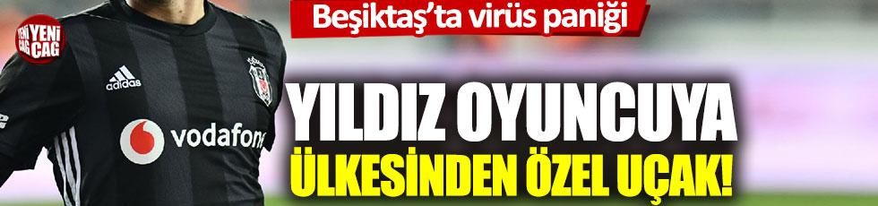 Beşiktaş'ta virüs paniği: Adem Ljajiç için Sırbistan'dan özel uçak!