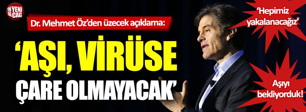 Dr. Mehmet Öz'den dünyayı üzecek açıklamalar