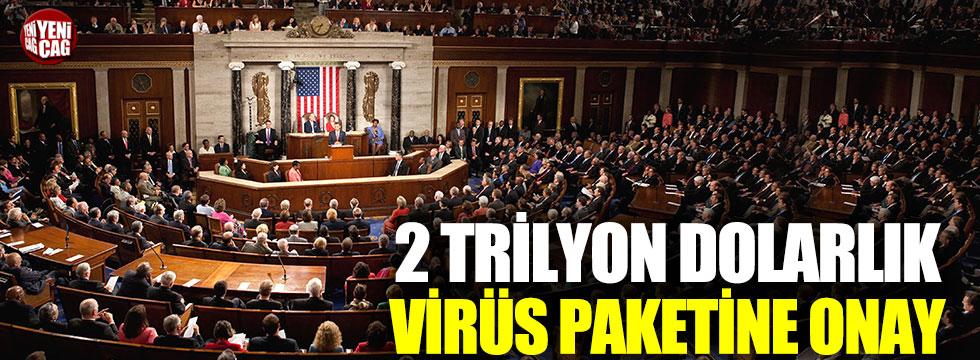 2 trilyon dolarlık pakete ABD Senatosu'ndan onay