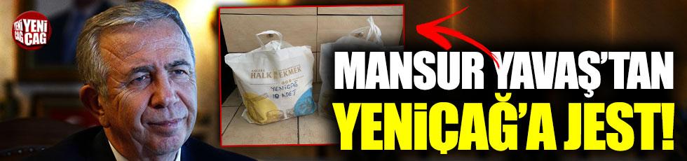 Mansur Yavaş'tan Yeniçağ'a korona virüs için sağlık kiti