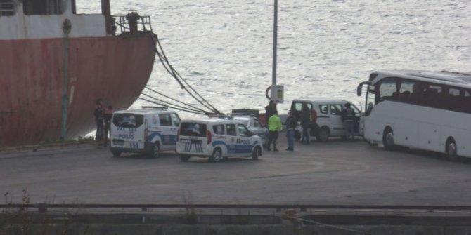 Haydarpaşa Limanı'nda karantina iddiası!