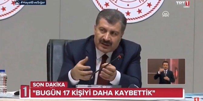 TRT Murat Sancak'ı eleştiren Fahrettin Koca'nın yayınını kesti!
